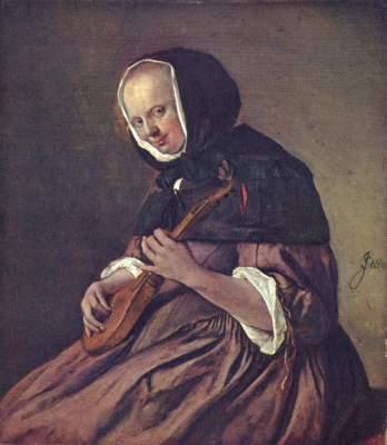 Lautenspielerin Königliche Gemäldegalerie Mauritshuis
