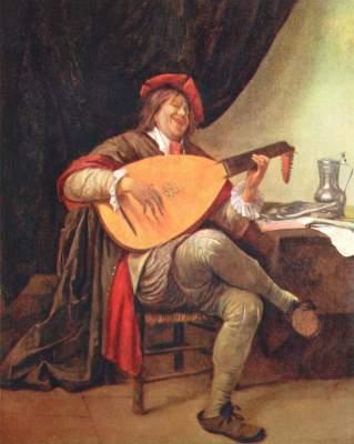 Selbstbildnis als Violinenspieler Slg. Thyssen-Bornemisza