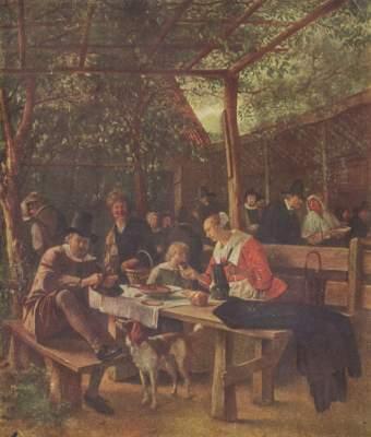 Wirtshausgarten Gemäldegalerie